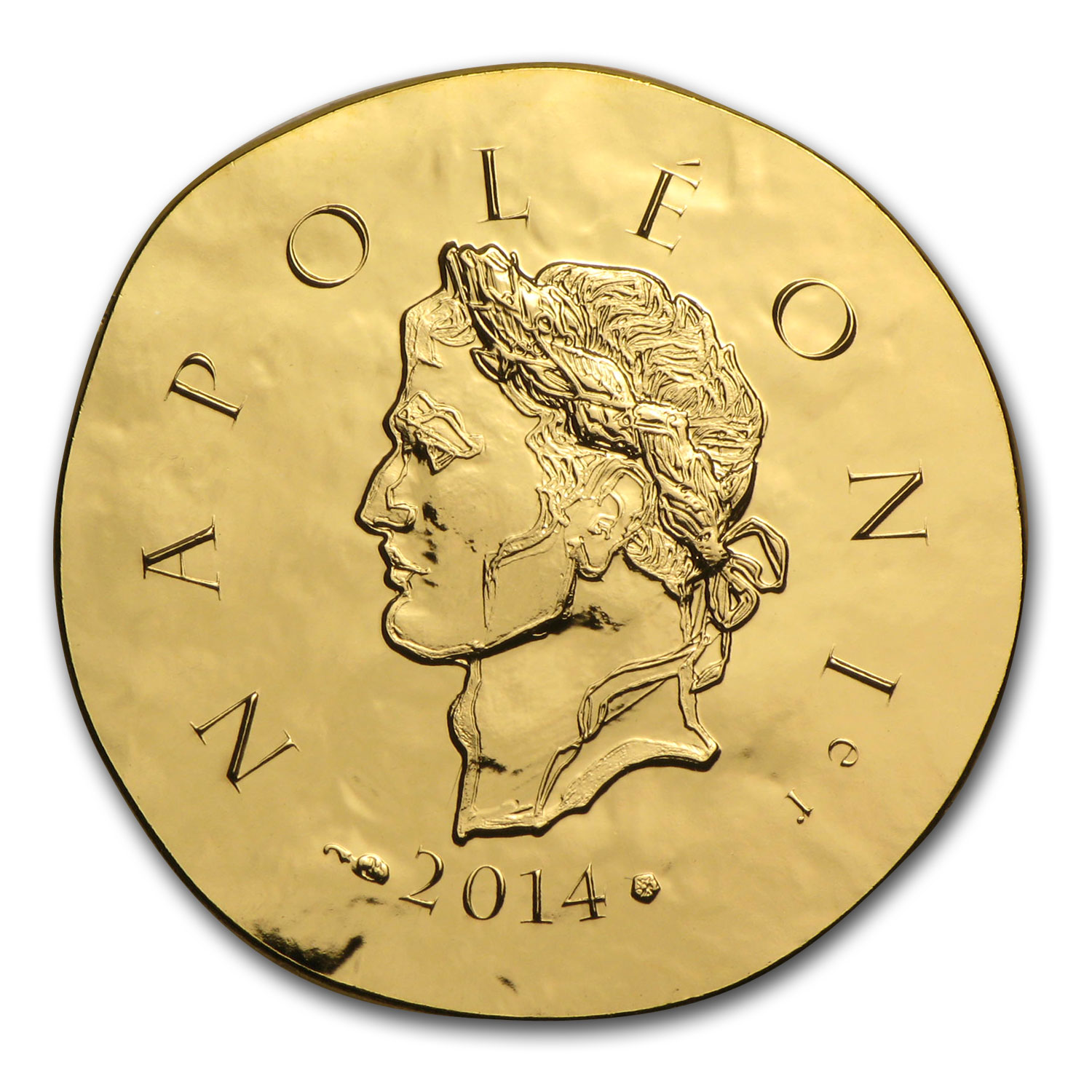2014 1/4 oz Gold €50 Proof Legendary Collection - Napoleon I